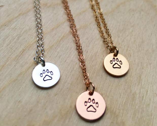 jewelry dog mom gift necklace