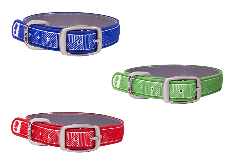 waterproof, stink-proof dublin dog collars