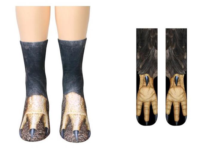 socks that look like eagle feet