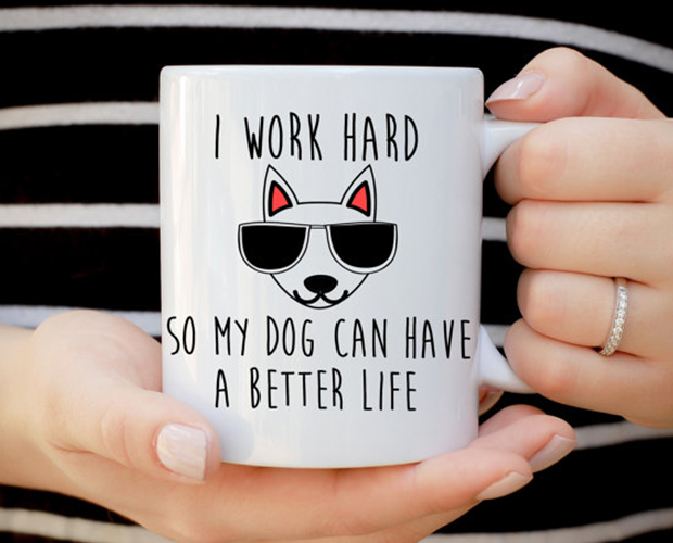 dog mom gifts coffee mug