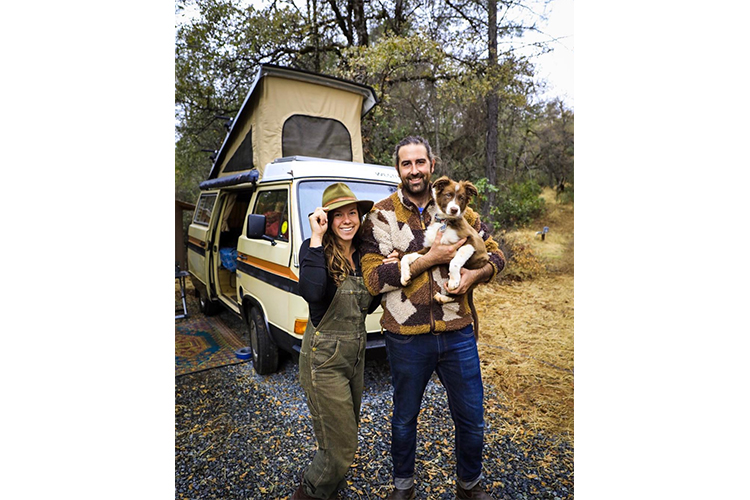 van life with a dog